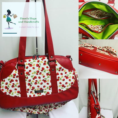 Sheera Bag - Strawberries